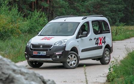 Тест-драйв Peugeot Partner 4х4 Dangel