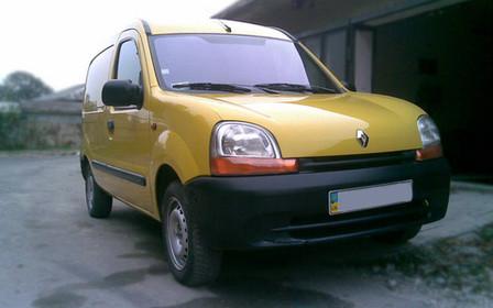 Тест-драйв Renault Kangoo 2000 г.в.