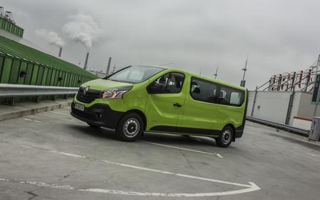Тест-драйв Renault Trafic