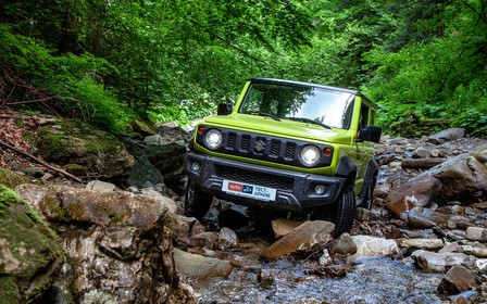 Тест-драйв Suzuki Jimny: Каменные джунгли