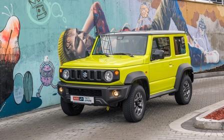 Тест-драйв Suzuki Jimny. Один в поле