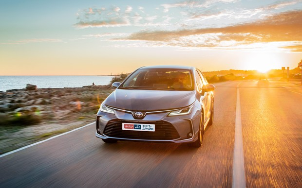 Тест-драйв Toyota Corolla: На голову выше