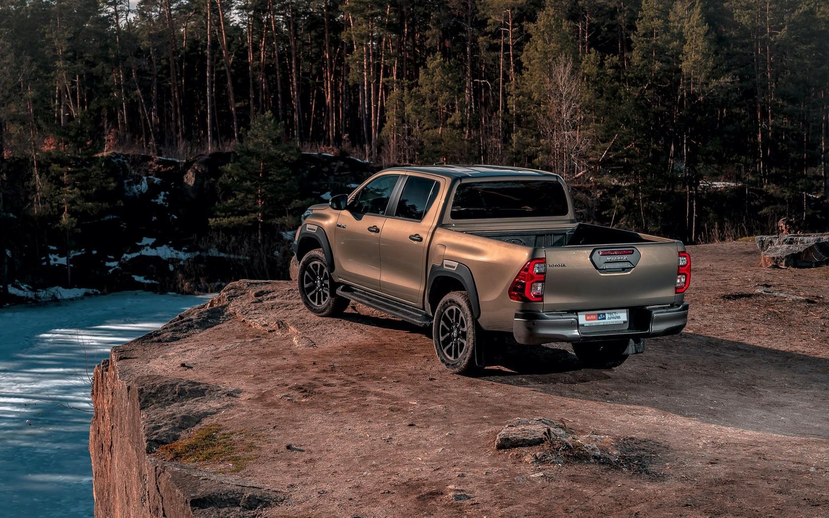 Toyota Hilux: використати за призначенням