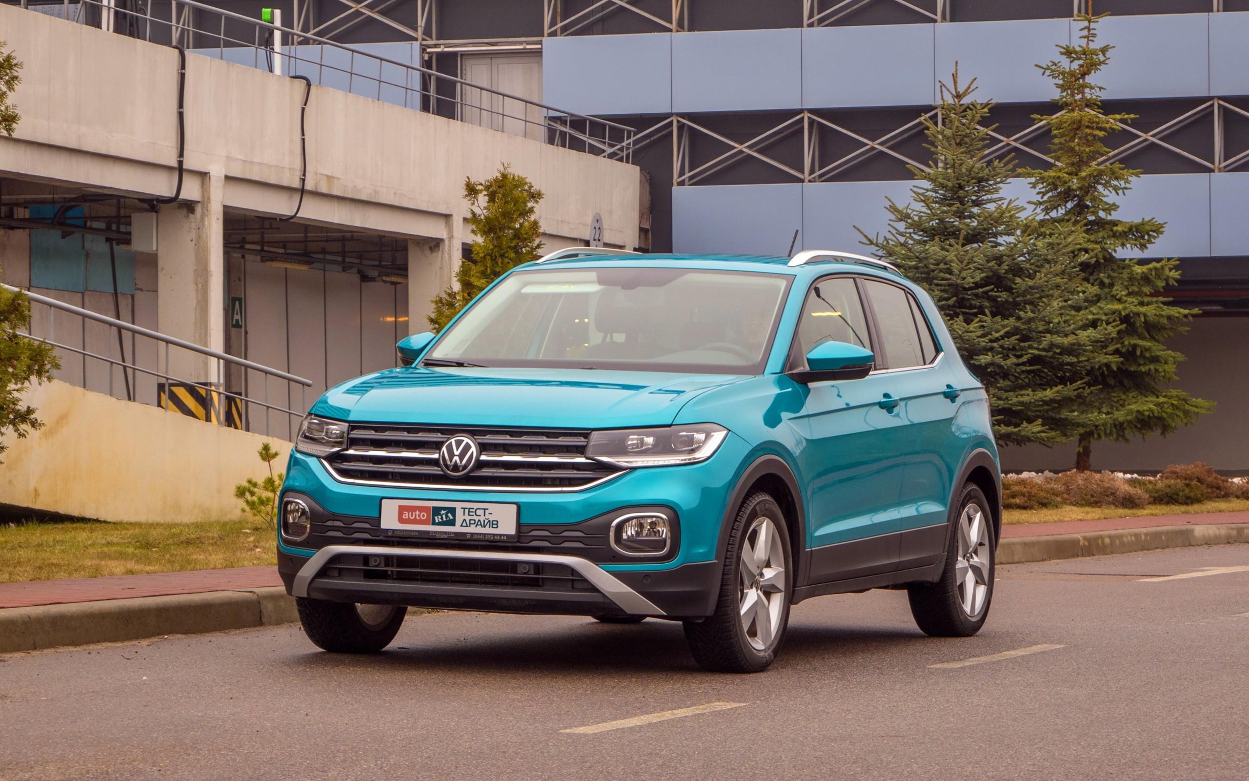Тест-драйв Volkswagen T-Cross: славный малый