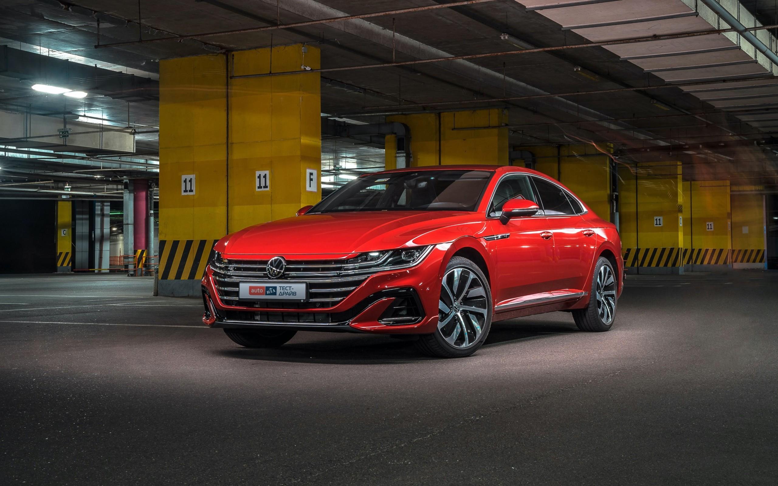 Тест-драйв VW Arteon R-line: тато буде у захваті