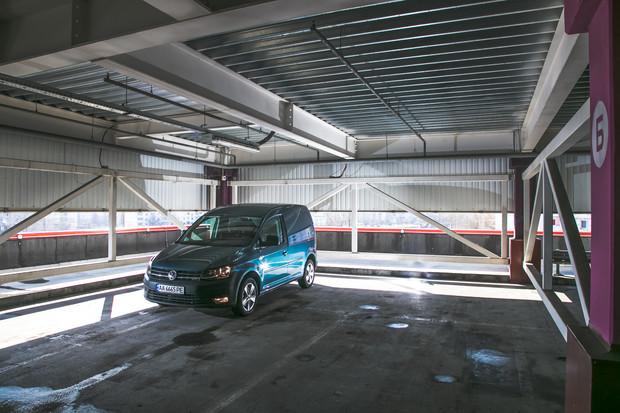 Тест-драйв VW Caddy Kasten