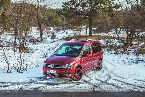 Тест-драйв VW Caddy