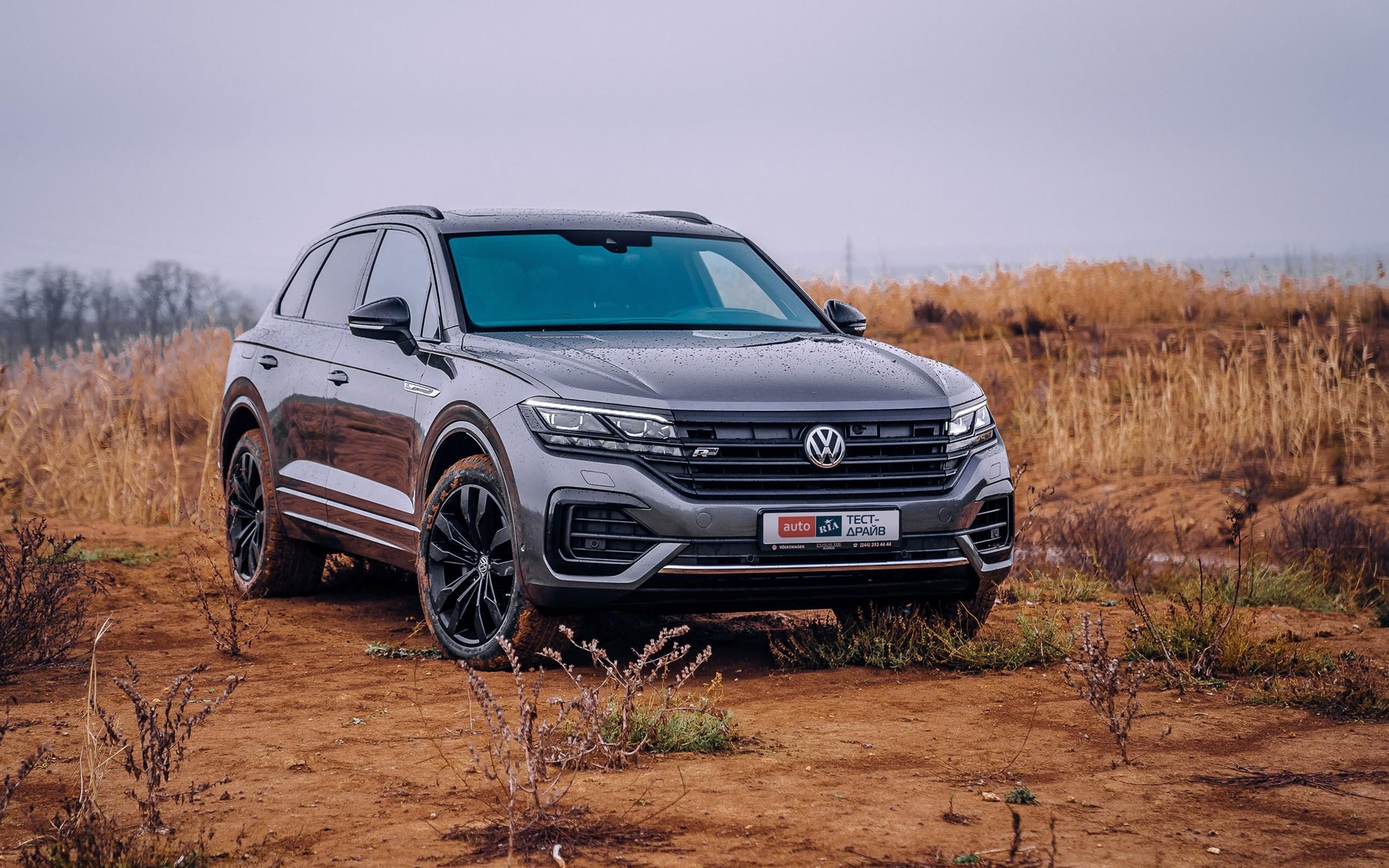 Тест-драйв VW Touareg: Приключение Электроника