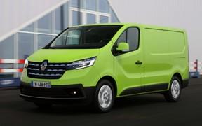 Только по лицу! Как изменится Renault Trafic?
