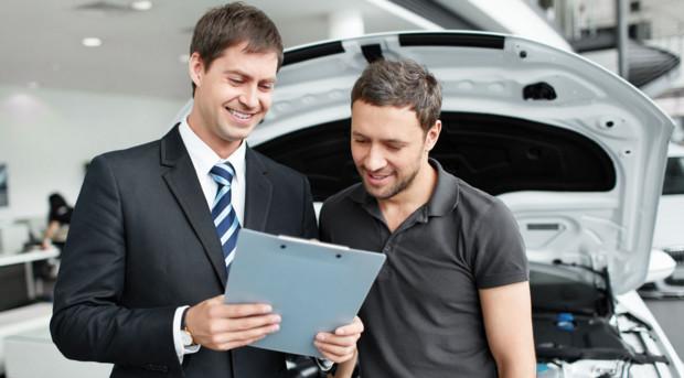 Процесс покупки подержанного автомобиля