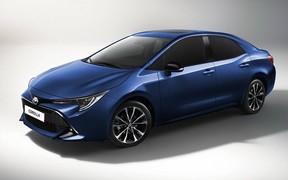 Toyota Corolla нового поколения дебютирует 16 ноября. ВИДЕО