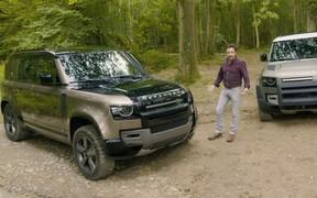Ты — легенда! Ричард Хаммонд презентовал новый Land Rover Defender. ВИДЕО