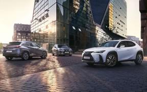 У Лексус Сіті Плаза з'явилась абсолютно нова модель Lexus UX