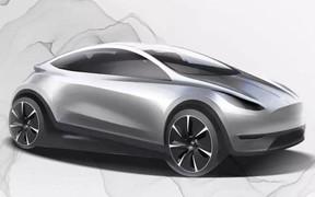 У Tesla будет пополнение: компакт и минивэн