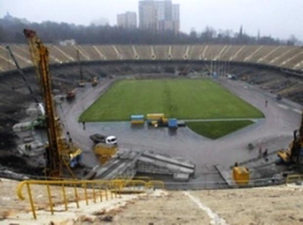 УЕФА провела проверку реконструкции НСК «Олимпийский»