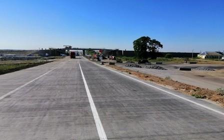 «Укравтодор» открыл участок новой бетонной дороги