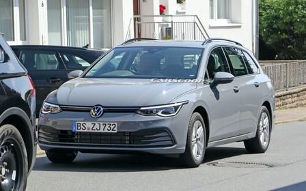 Универсал Volkswagen Golf готовится к премьере