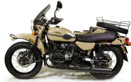 Урал представил мотоцикл для путешественников