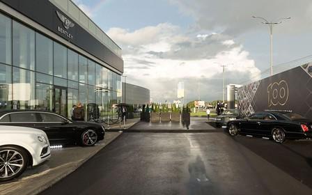 Урочисте відкриття Bentley Kyiv