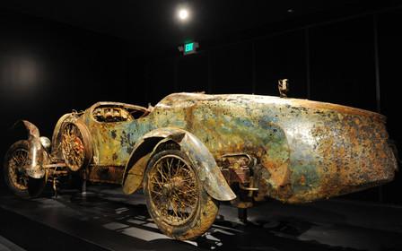 Утопленник за $360 000: Редкий Bugatti Type 22 пролежал на дне озера 72 года