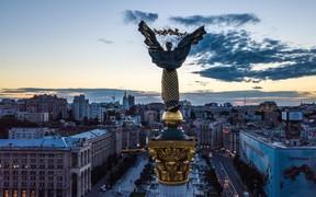 В центре Киева капитально обновили 2 улицы
