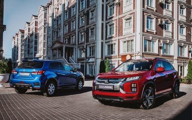 В дилерській мережі Mitsubishi Motors в Україні стартували продажі нового Mitsubishi ASX