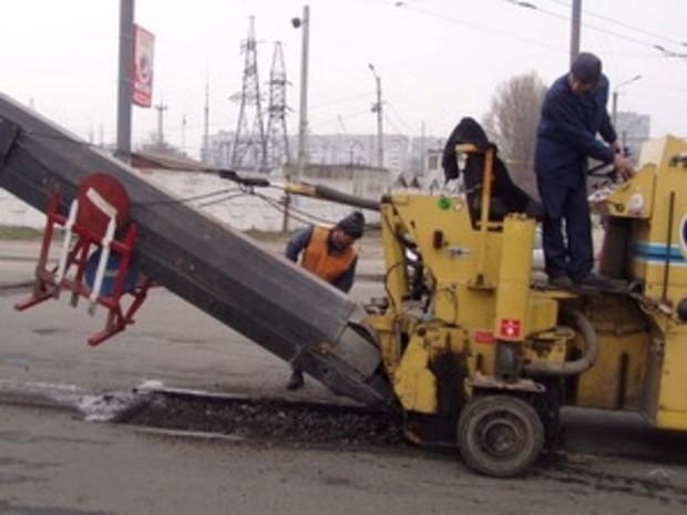 В Днепропетровске закончили ремонтировать дороги