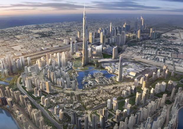 В Дубае открыто самое высокое здание в мире Burj Dubai