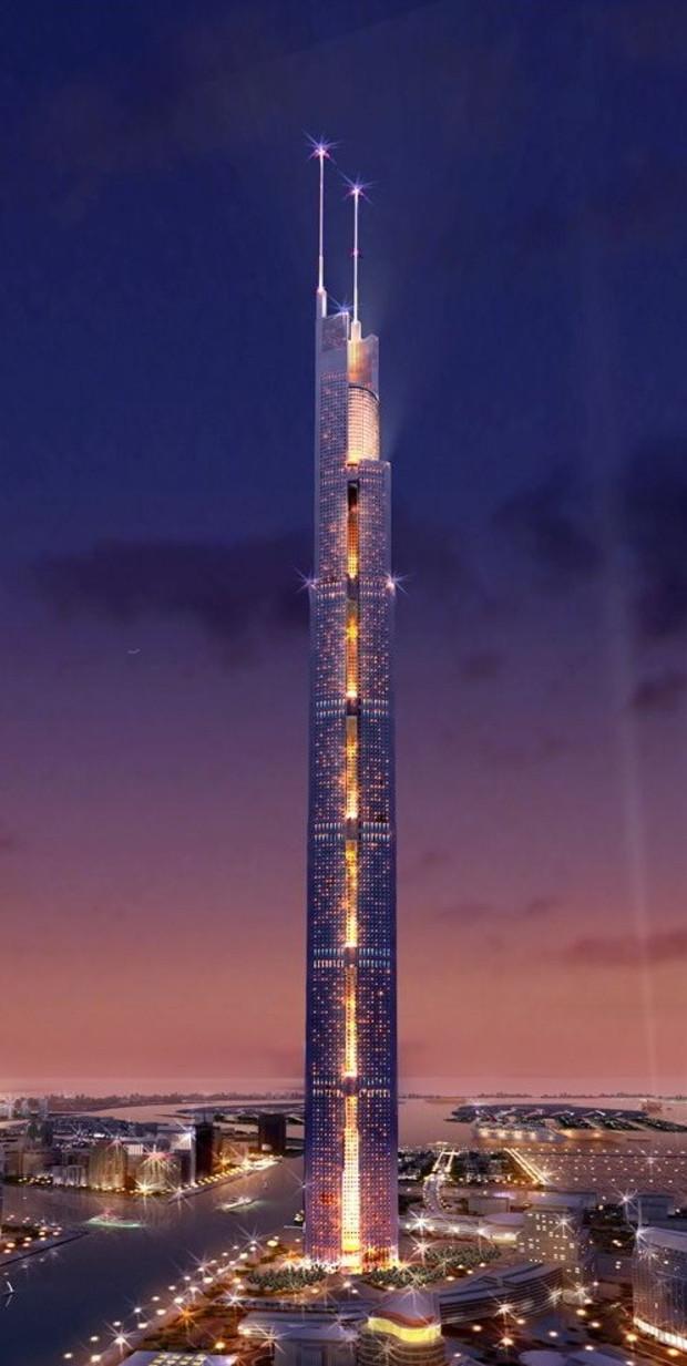 В Дубаи достроен самый высокий в мире жилой небоскреб