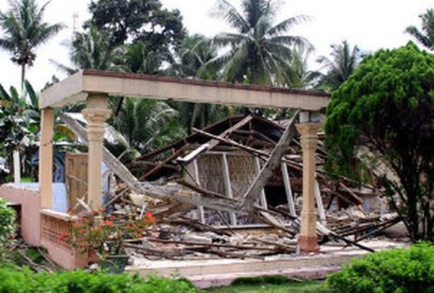В Индонезии произошло землетрясение магнитудой 6,6