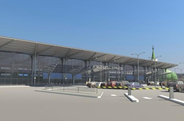 В харьковском аэропорту строят терминал для гостей ЕВРО-2012