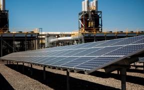 В Хмельницком на крыше университета установили солнечные электростанции