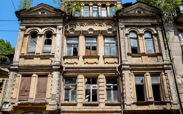 В Киеве началась реставрация усадьбы Мурашко