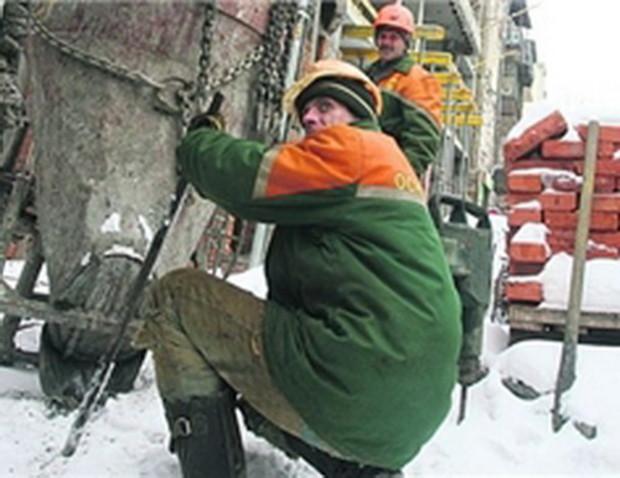 В Киеве начинают оживать стройки