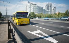 В Киеве разрабатывают транспортный скоростной коридор на Троещину