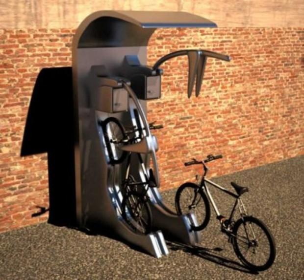В Киеве вскоре появятся парковки для велосипедов