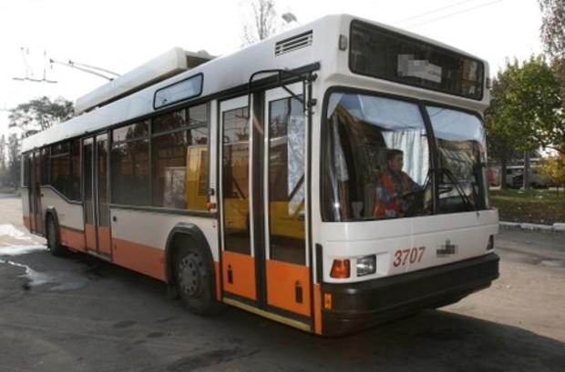В Киеве запустили новый троллейбусный маршрут
