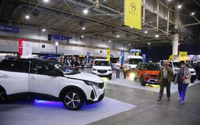 В Києві відкрилась автомобільна виставка ComAutoTrans`2021