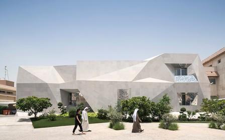 У Кувейті побудували будинок-орігамі