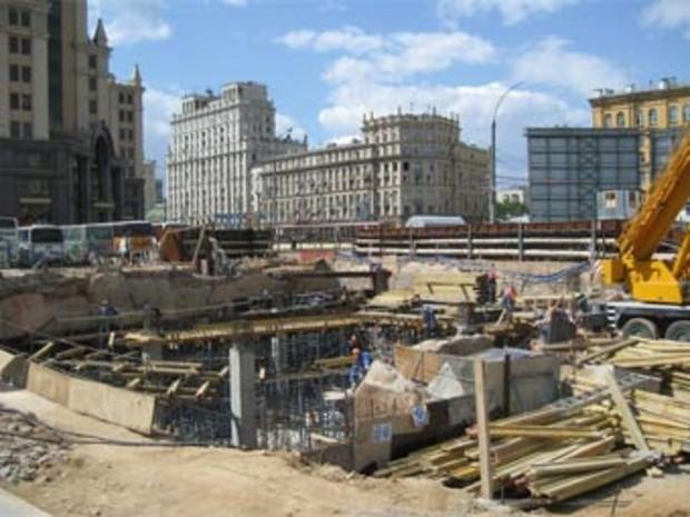 В Москве перестают строить