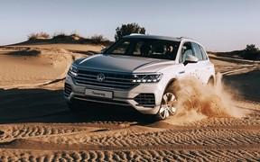 В Новий рік на Новому Volkswagen Touareg з вигодою -20%