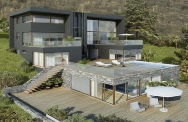 В Швейцарии построили самый дорогой дом в мире