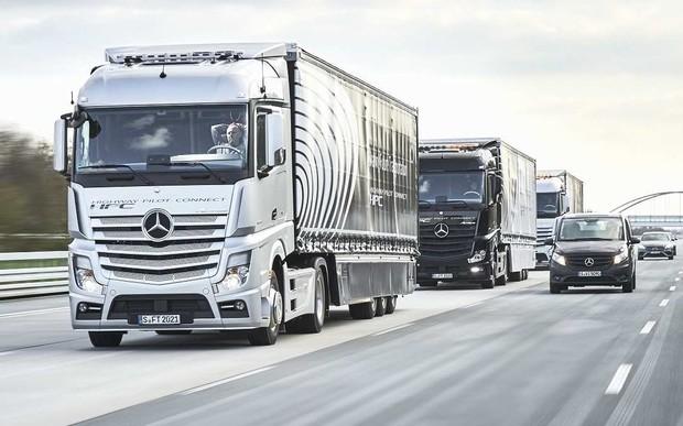В столице ограничили въезд грузового транспорта