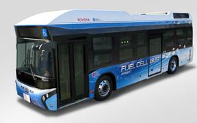 В Токио идут испытания водородных автобусов