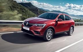 В Украине начались продажи нового Renault Arkana