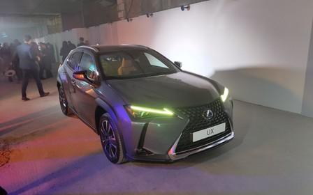 В Украине представили новый Lexus UX