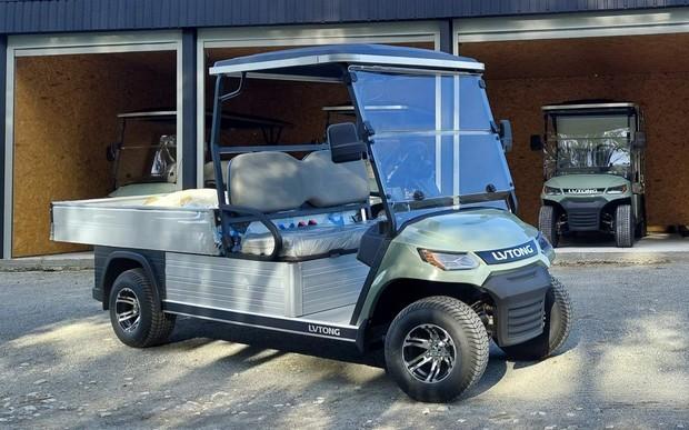 В Украине презентовали новую линейку электрических гольф-каров от LVTONG