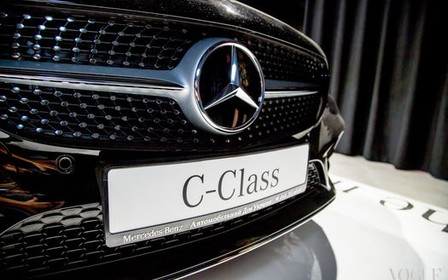 В Украине состоялась долгожданная презентация нового Mercedes-Benz C-Class.