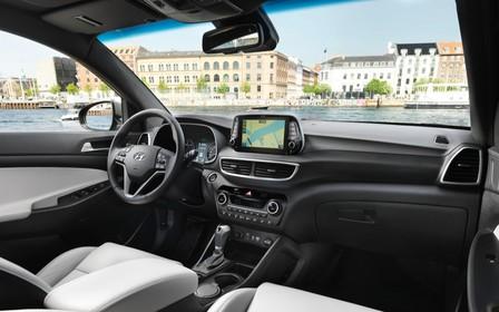 В Украине стартовали продажи Hyundai Tucson с новым дизельным двигателем