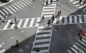В Виннице появятся первые в Украине диагональные пешеходные переходы
